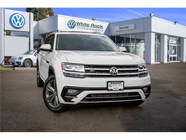 2019 Volkswagen Atlas 3.6 FSI Highline (Stk: KA569300) in Vancouver - Image 1 of 29