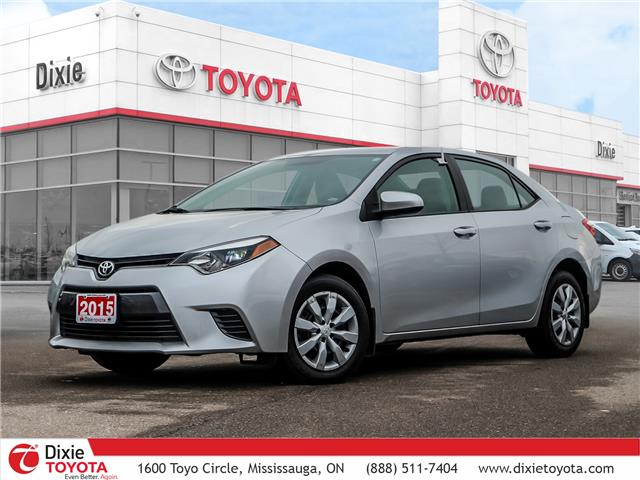 2015 Toyota Corolla  (Stk: D192302A) in Mississauga - Image 1 of 26