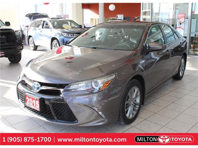 2015 Toyota Camry Hybrid SE 4T1BD1FK9FU145403 145403 in Milton