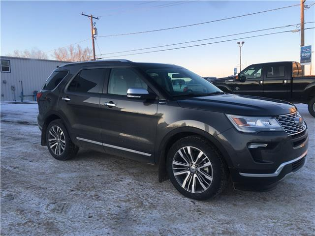 2018 Ford Explorer Platinum 1FM5K8HT2JGB36132 20U100 in Wilkie