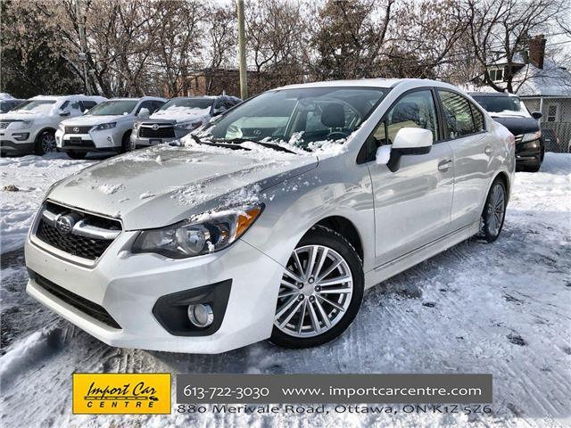 2014 Subaru Impreza 2.0i Sport Package (Stk: 025304) in Ottawa - Image 1 of 23