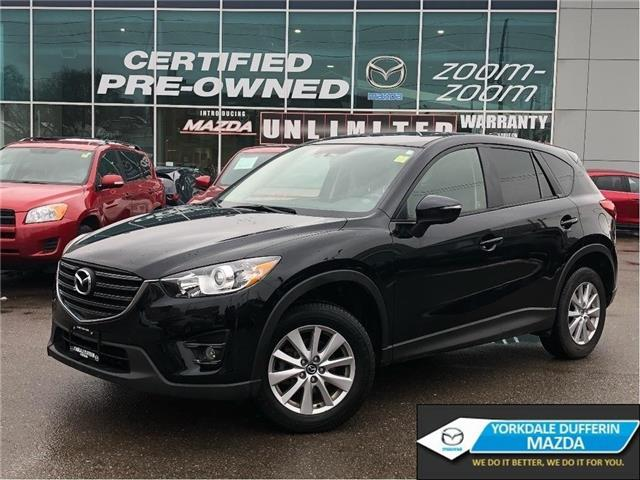 2016 Mazda CX-5 GS AWD at LEATHER,REAR CAM,ALLOYS,SUNROOF,NO ACCID (Stk: P2028) in Toronto - Image 1 of 21