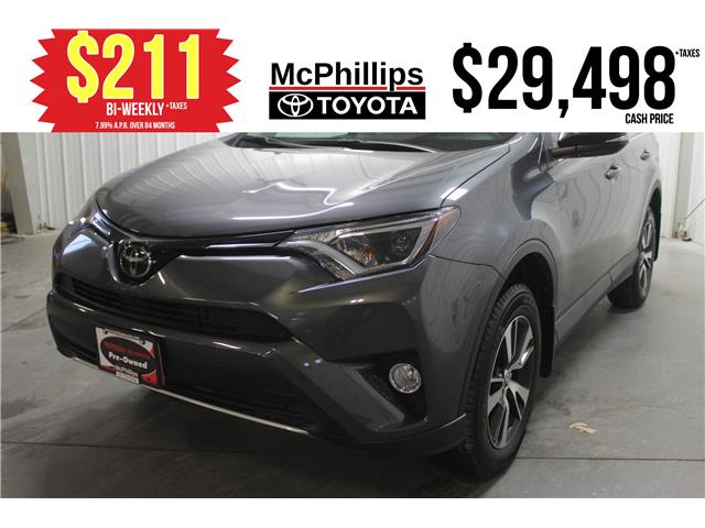 2017 Toyota RAV4 XLE (Stk: P029693A) in Winnipeg - Image 1 of 25