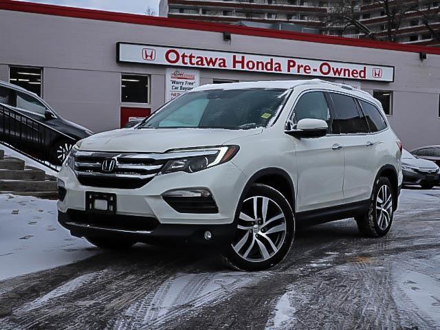 2016 Honda Pilot Touring (Stk: H8077-0) in Ottawa - Image 1 of 28