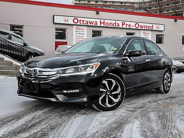2017 Honda Accord EX-L (Stk: 32906-1) in Ottawa - Image 1 of 25