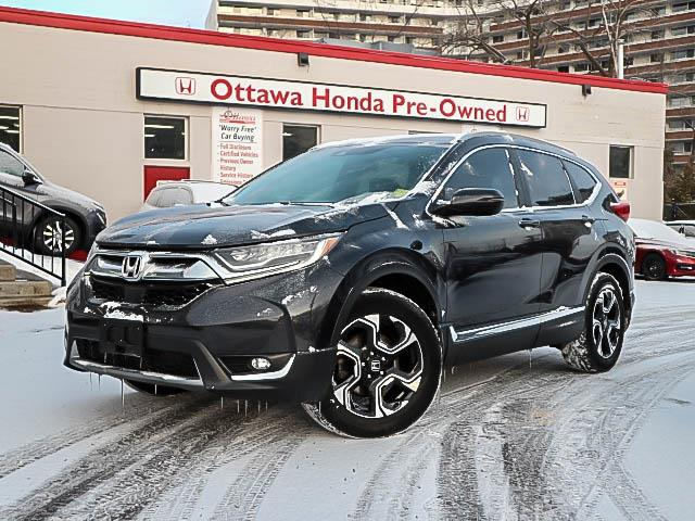 2017 Honda CR-V Touring (Stk: H8099-0) in Ottawa - Image 1 of 27