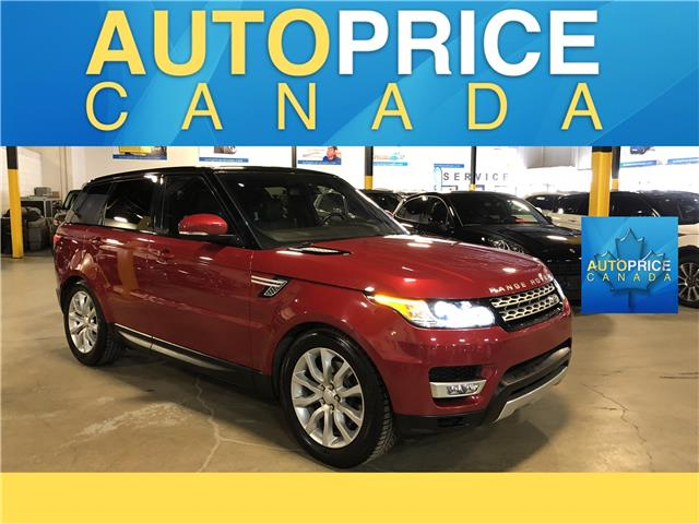 2016 Land Rover Range Rover Sport DIESEL Td6 HSE (Stk: W0797) in Mississauga - Image 1 of 29