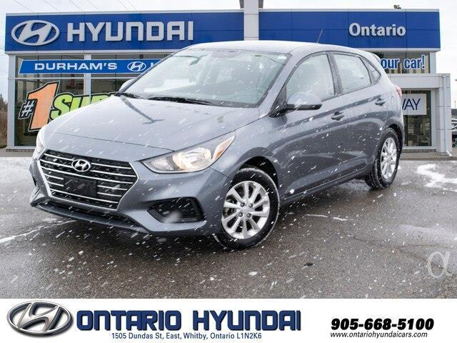 2019 Hyundai Accent Preferred (Stk: 45110K) in Whitby - Image 1 of 18