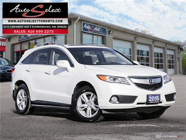 2015 Acura RDX Technology Package 5J8TB4H56FL803838 1AZQ921 in Scarborough