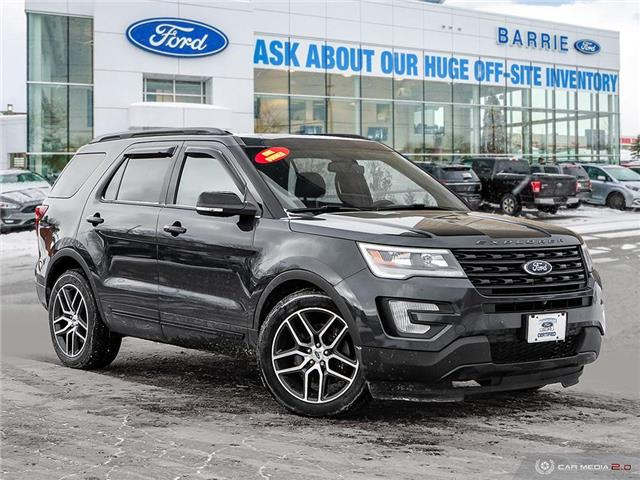 2017 Ford Explorer Sport (Stk: T0088A) in Barrie - Image 1 of 25