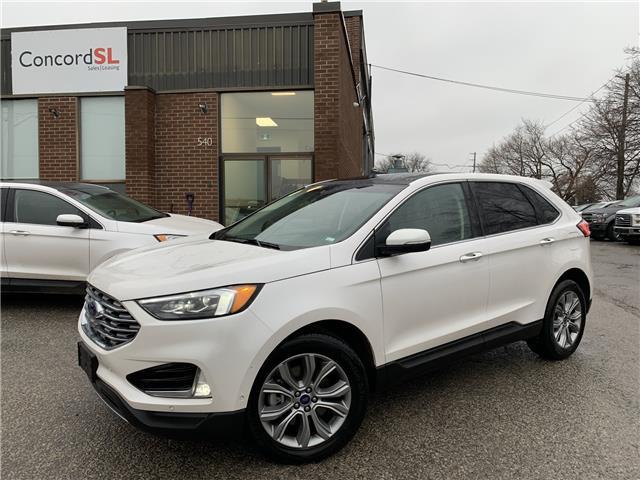 2019 Ford Edge Titanium (Stk: C3597) in Concord - Image 1 of 5