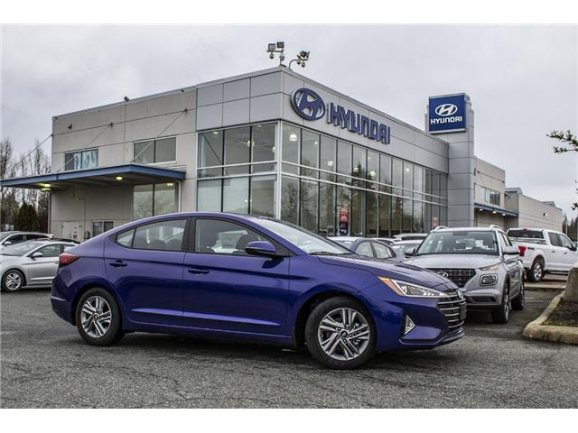 2020 Hyundai Elantra Preferred w/Sun & Safety Package (Stk: LE014342) in Abbotsford - Image 1 of 25
