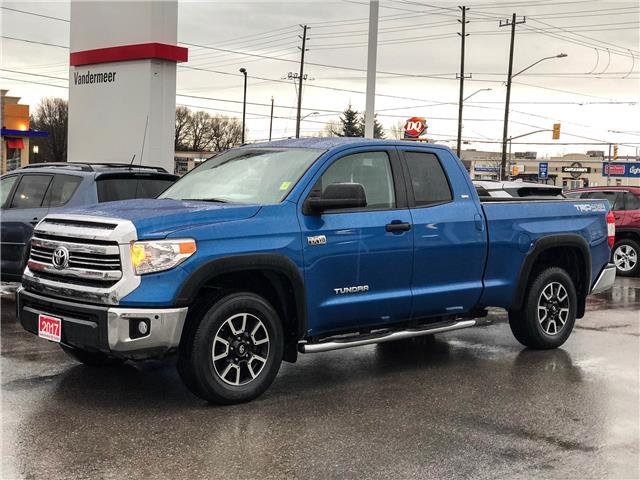 2017 Toyota Tundra SR5 Plus 5.7L V8 (Stk: W4947) in Cobourg - Image 1 of 13