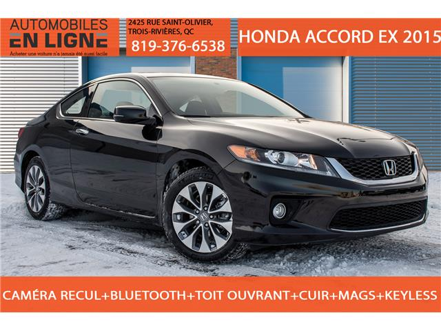 2015 Honda Accord EX (Stk: 800031) in Trois Rivieres - Image 1 of 31