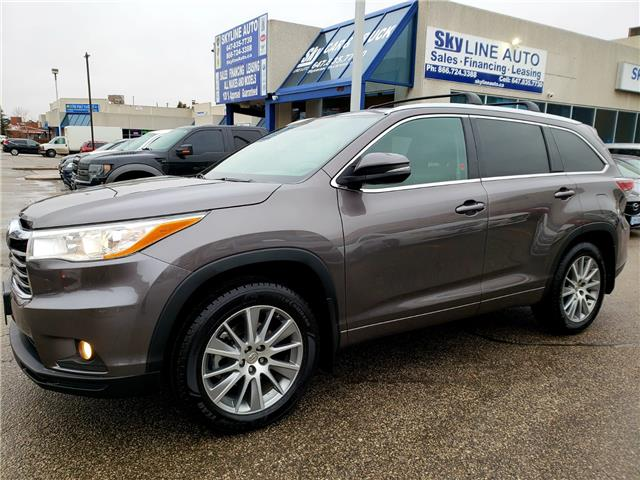 2015 Toyota Highlander XLE (Stk: ) in Concord - Image 1 of 26