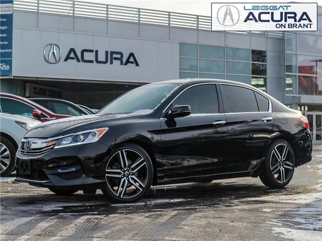 2017 Honda Accord Sport (Stk: 4174A) in Burlington - Image 1 of 29
