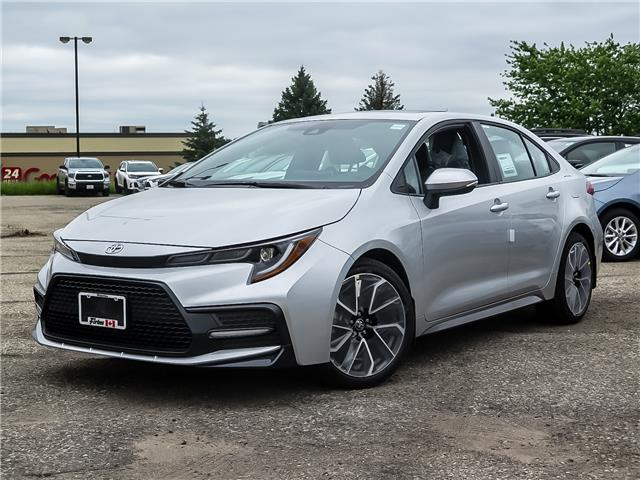 2020 Toyota Corolla SE (Stk: 02072) in Waterloo - Image 1 of 18
