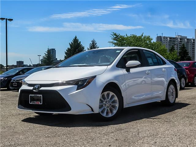 2020 Toyota Corolla LE (Stk: 02076) in Waterloo - Image 1 of 18