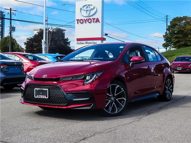 2020 Toyota Corolla SE (Stk: 02161) in Waterloo - Image 1 of 21