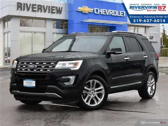 2016 Ford Explorer Limited (Stk: 19437A) in WALLACEBURG - Image 1 of 27