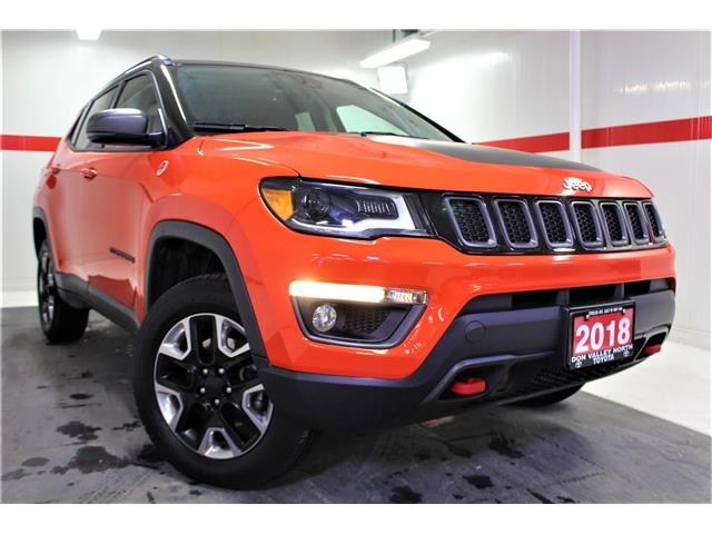 2018 Jeep Compass Trailhawk (Stk: 300250S) in Markham - Image 1 of 26