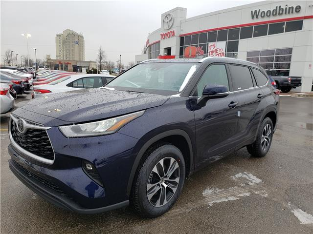 2020 Toyota Highlander XLE (Stk: 20-437) in Etobicoke - Image 1 of 6