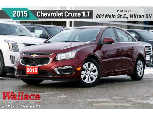 2015 Chevrolet Cruze LT | AUTO | REMOTE START | REAR VIEW CAM (Stk: 396624B) in Milton - Image 1 of 23