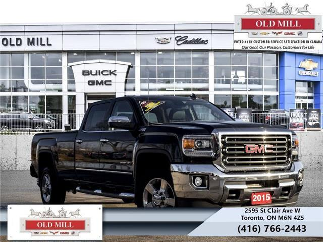 2015 GMC Sierra 2500HD SLT (Stk: 578318U) in Toronto - Image 1 of 19