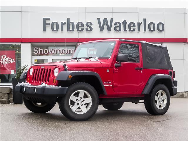 Used 2012 Jeep Wrangler Sport  - Waterloo - Forbes Waterloo Toyota