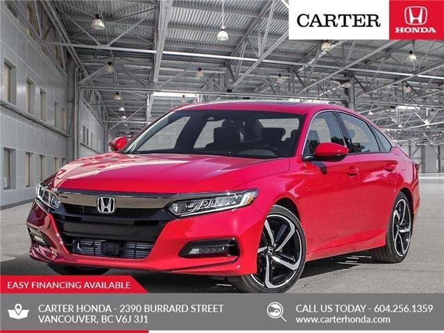 2019 Honda Accord Sport 2.0T (Stk: 6K18230) in Vancouver - Image 1 of 22