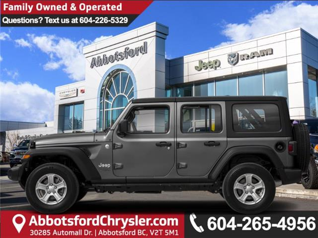 2020 Jeep Wrangler Unlimited Sahara (Stk: L147684) in Abbotsford - Image 1 of 1