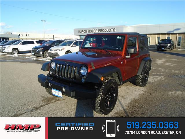 2014 Jeep Wrangler Sport (Stk: 86284) in Exeter - Image 1 of 23