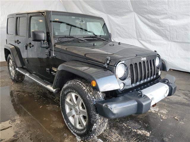 2014 Jeep Wrangler Unlimited Sahara (Stk: 2011391) in Thunder Bay - Image 1 of 15