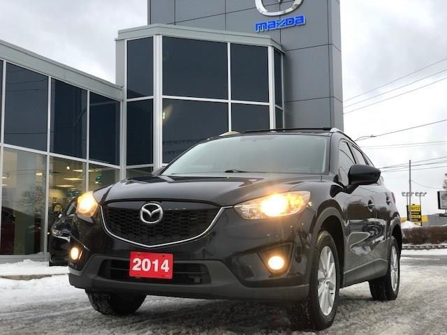 2014 Mazda CX-5 GS (Stk: 210481) in Gloucester - Image 1 of 15
