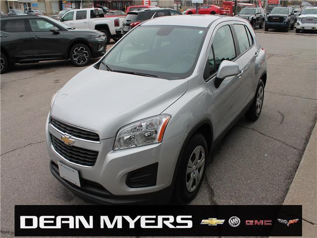 2015 Chevrolet Trax LS (Stk: C143416X) in North York - Image 1 of 18