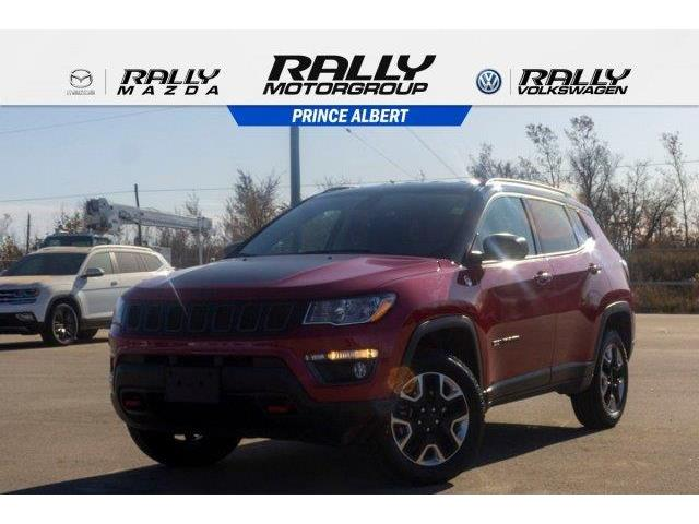 2018 Jeep Compass Trailhawk (Stk: V1032) in Prince Albert - Image 1 of 11