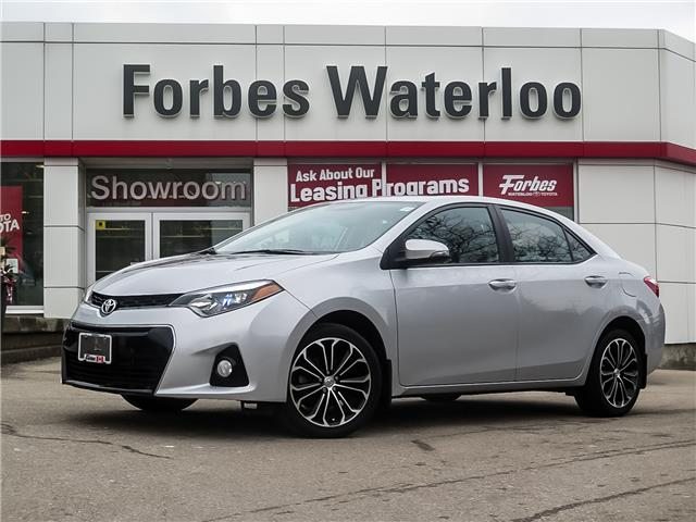 2016 Toyota Corolla S (Stk: 02050R) in Waterloo - Image 1 of 25
