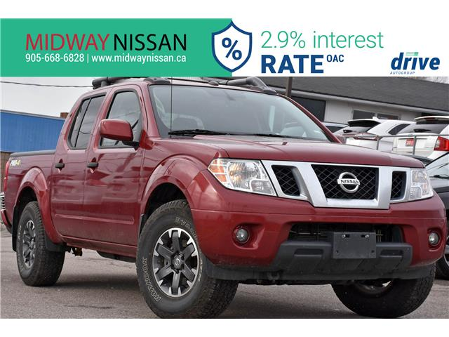 2019 Nissan Frontier PRO-4X (Stk: U1978R) in Whitby - Image 1 of 32