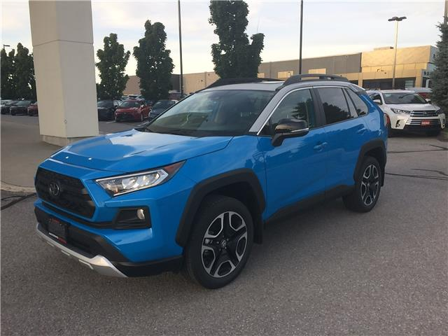 2020 Toyota RAV4 Trail (Stk: 8061) in Barrie - Image 1 of 14