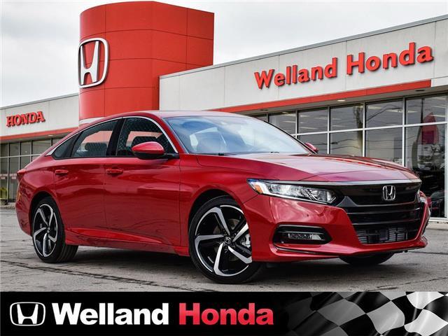 2020 Honda Accord Sport 1.5T (Stk: N20088) in Welland - Image 1 of 24