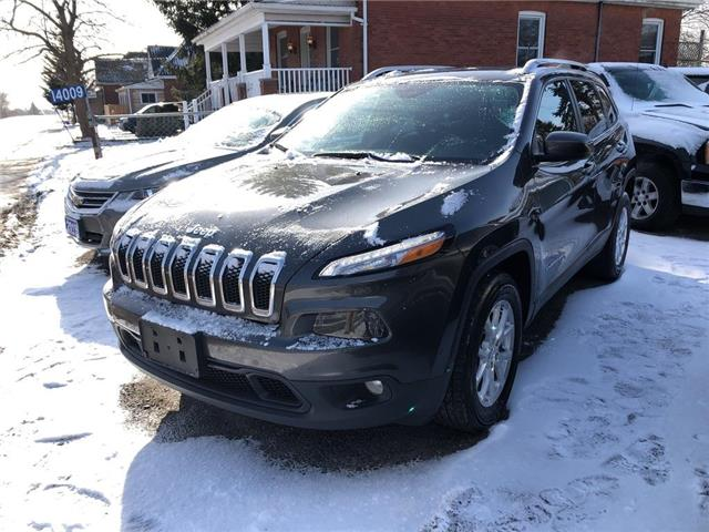 2017 Jeep Cherokee North (Stk: 09474) in Belmont - Image 1 of 15