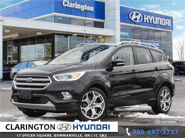 2017 Ford Escape Titanium (Stk: U910A) in Clarington - Image 1 of 27