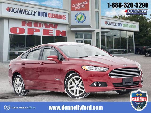 2014 Ford Fusion Hybrid SE (Stk: CLDS582A) in Ottawa - Image 1 of 28