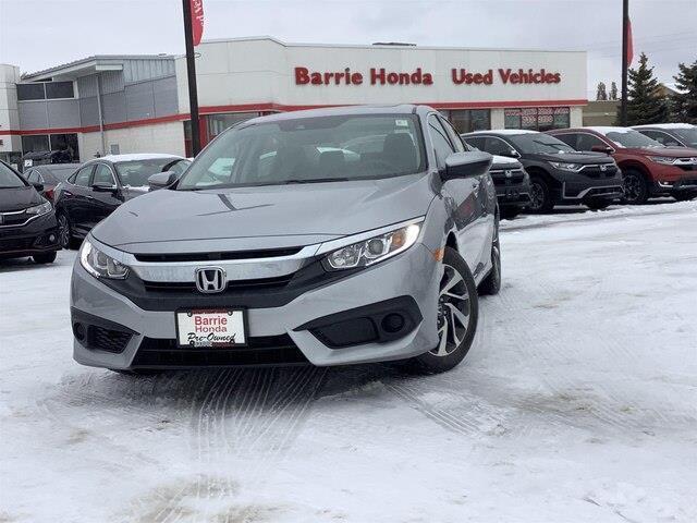 2018 Honda Civic EX (Stk: U18325) in Barrie - Image 1 of 26