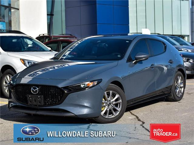 2019 Mazda Mazda3 Sport GS Manual FWD >>LEATHER PACKAGE<< (Stk: P2930A) in Toronto - Image 1 of 30
