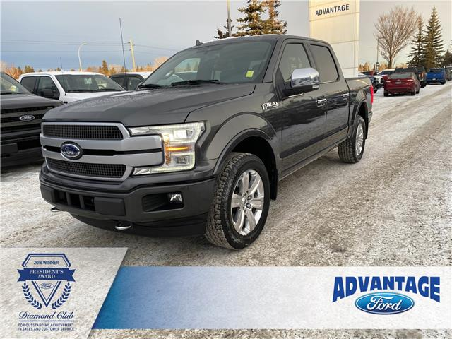 2018 Ford F-150 Platinum (Stk: T23161) in Calgary - Image 1 of 25