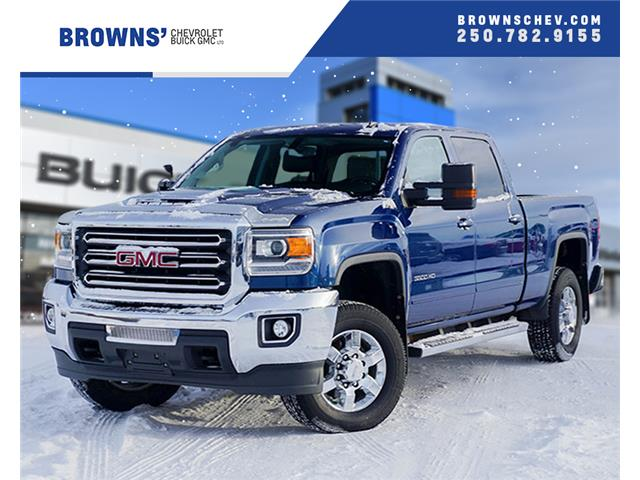 2019 GMC Sierra 3500HD SLE (Stk: T19-1081A) in Dawson Creek - Image 1 of 14