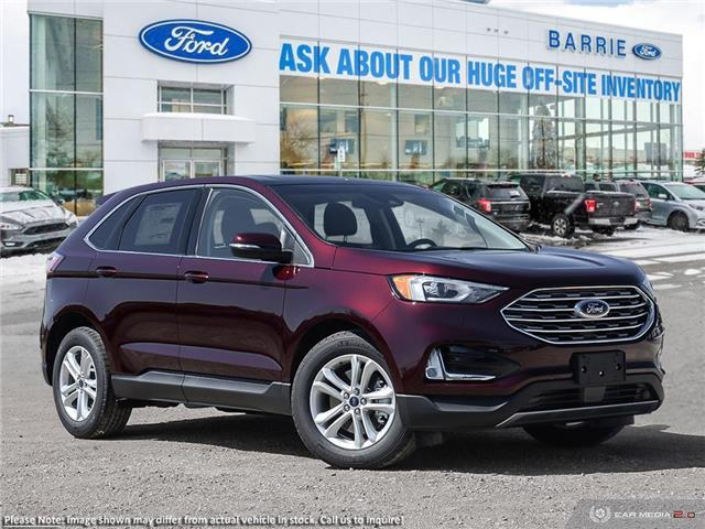 2019 Ford Edge SEL (Stk: T1343) in Barrie - Image 1 of 27