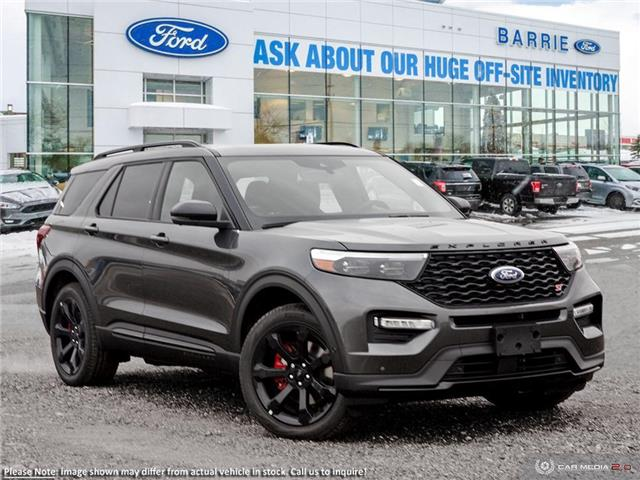 2020 Ford Explorer ST (Stk: U0185) in Barrie - Image 1 of 27