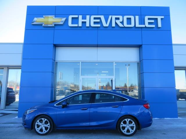 2017 Chevrolet Cruze Premier Auto (Stk: 19242A) in STETTLER - Image 1 of 18